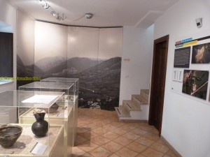 Interno dell'Antiquarium